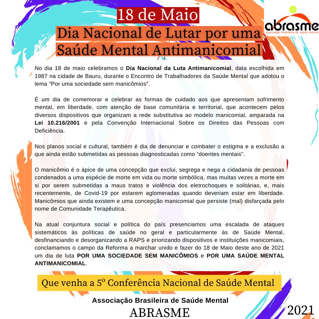 Pré-Fórum Microrregional do 5º Fórum de Direitos Humanos e Saúde Mental
