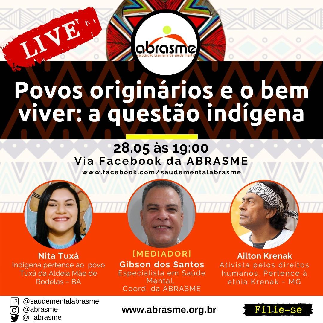 LIVE - Povos Originários e o Bem Viver: a questão indígena