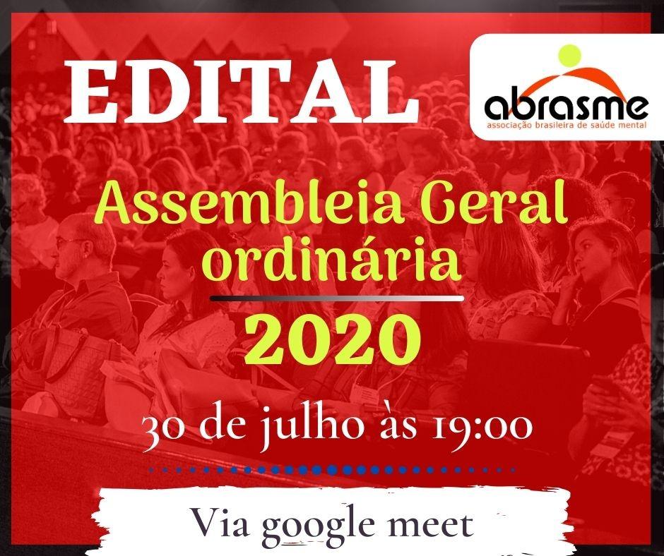 Edital de Convocação para Assembleia Geral