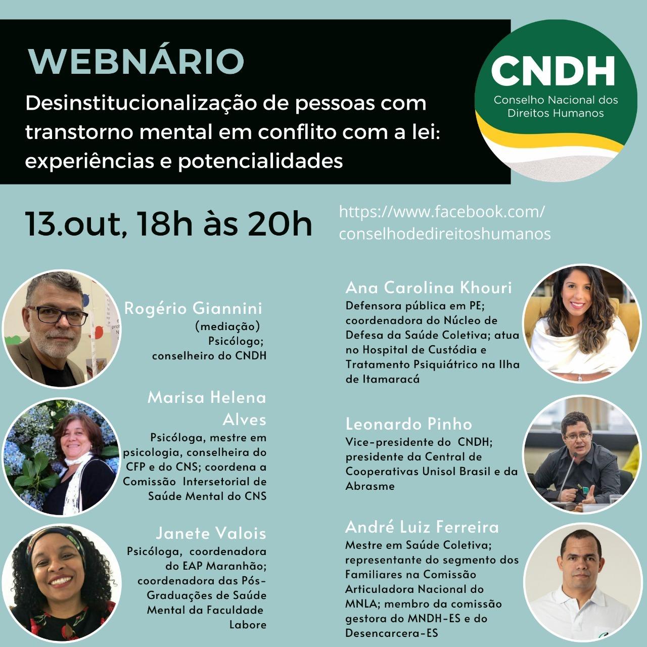 Diretores da ABRASME participam de Webnário do CNDH