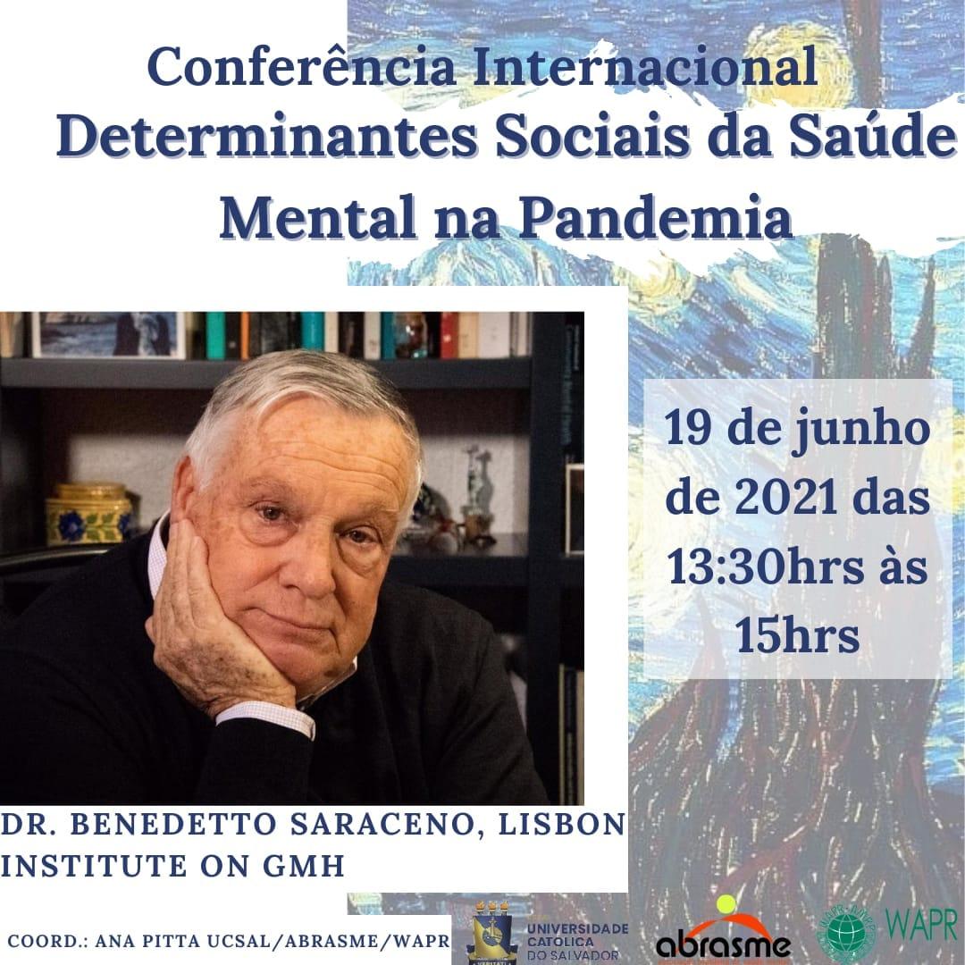 Determinantes Sociais da Saúde Mental na Pandemia