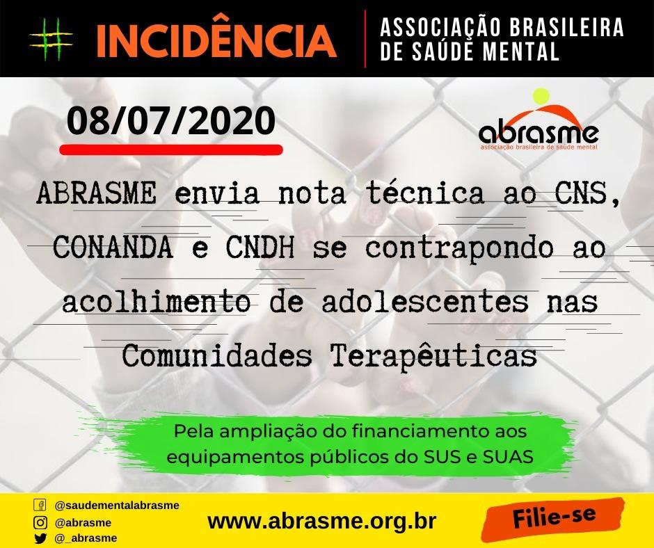 ABRASME participa do lançamento do Relatório de Inspeção dos Hosp. Psiquiátricos